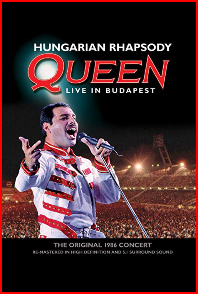 Hungarian Rhapsody- Queen Live in Budapest
